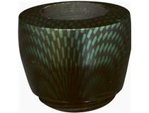 DOV. CARBON FINISH BOWL GREEN