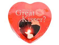 ARE YOU A GREAT KISSER