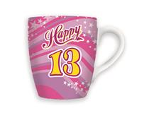 CELEBRATION MUG - HAPPY 13