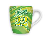 CELEBRATION MUG - HAPPY 22