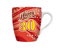 CELEBRATION MUG - HAPPY 30