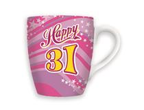 CELEBRATION MUG - HAPPY 31