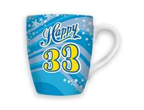 CELEBRATION MUG - HAPPY 33