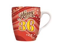CELEBRATION MUG - HAPPY 36