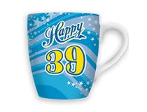 CELEBRATION MUG - HAPPY 39