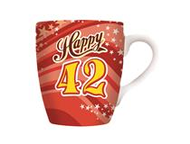 CELEBRATION MUG - HAPPY 42