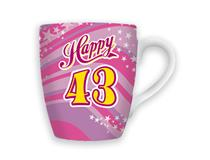 CELEBRATION MUG - HAPPY 43