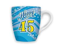 CELEBRATION MUG - HAPPY 45