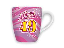 CELEBRATION MUG - HAPPY 49