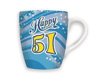 CELEBRATION MUG - HAPPY 51