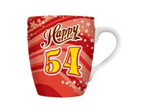 CELEBRATION MUG - HAPPY 54