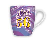 CELEBRATION MUG - HAPPY 56