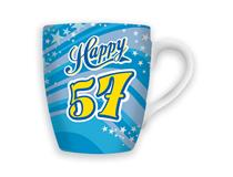 CELEBRATION MUG - HAPPY 57