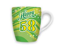 CELEBRATION MUG - HAPPY 58