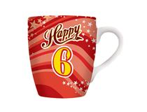CELEBRATION MUG - HAPPY 6