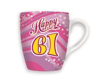 CELEBRATION MUG - HAPPY 61