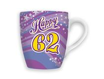 CELEBRATION MUG - HAPPY 62
