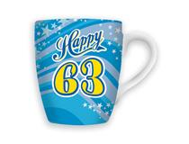 CELEBRATION MUG - HAPPY 63
