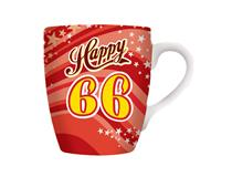 CELEBRATION MUG - HAPPY 66