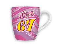 CELEBRATION MUG - HAPPY 67