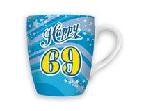 CELEBRATION MUG - HAPPY 69