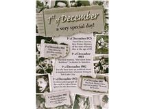 CHRONICLE CARD DECEMBER 1