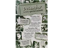 CHRONICLE CARD DECEMBER MONTH