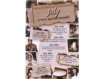 CHRONICLE CARD JULY MONTH