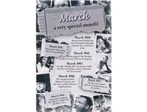 CHRONICLE CARD MARCH MONTH
