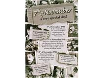 CHRONICLE CARD NOVEMBER 7