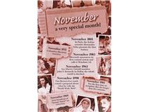 CHRONICLE CARD NOVEMBER MONTH