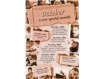 CHRONICLE CARD OCTOBER MONTH