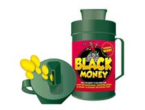 COLLECTION BOX BLACK MONEY