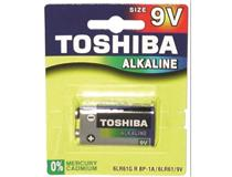 9V SUPER ALKALINE BATTERY 1PK