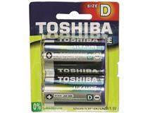 D SUPER ALKALINE BATTERY 2PK