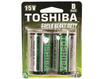 D SUPER HEAVY DUTY BATTERY 1.5V 2PK