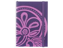 Liberty Tanjore Lotus A5 Emboss Notebook