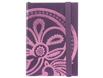 Liberty Tanjore Lotus A6 Emboss Notebook