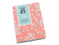 Busy B Mini Notebook A6 Pink Mini Floral