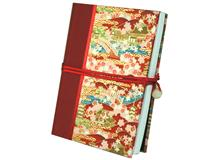 Japanese Journal A5 Red Temple