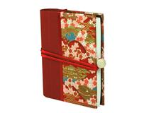 Japanese Journal A6 Red Temple