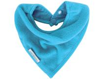 FLEECE BANDANA BIB AQUA
