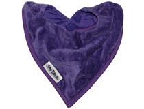 TOWEL BANDANA BIB PURPLE