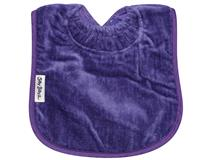 TOWEL PLAIN LARGE BIB PURPLE