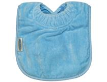 TOWEL PLAIN LARGE BIB SKY BLUE