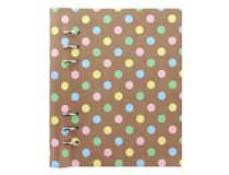 A5 PATTERNS CLIPBOOK PASTEL DOTS