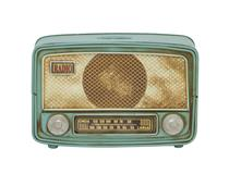 MODEL RADIO MONEY BOX