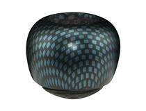 APP. CARBON FIBRE FINISH BLUE BOWL