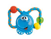 Elephant Fun Plastic Teething Rattle