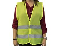 HI VIS SAFETY VEST ADULT - Yellow